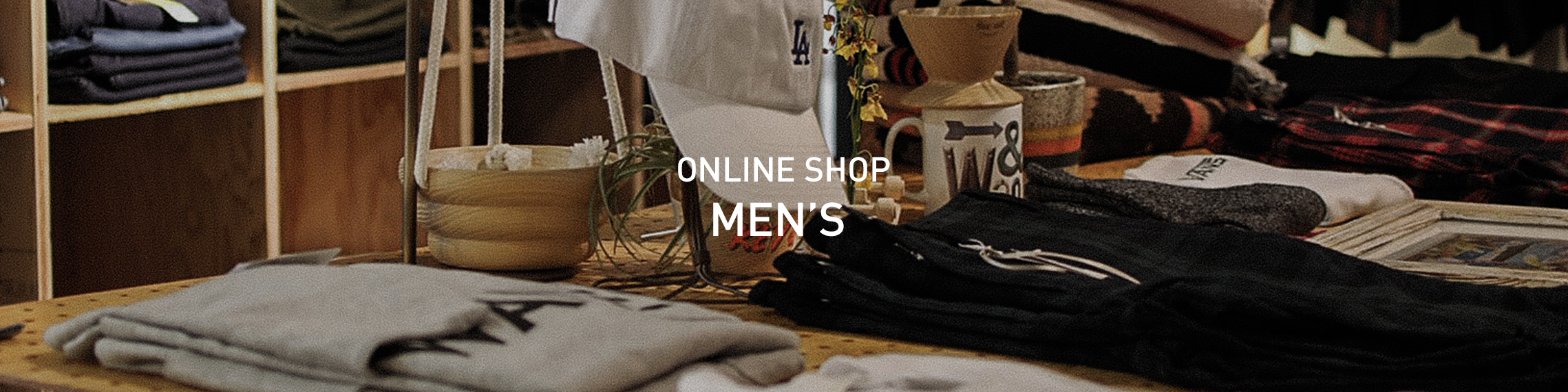 Online shop Men's