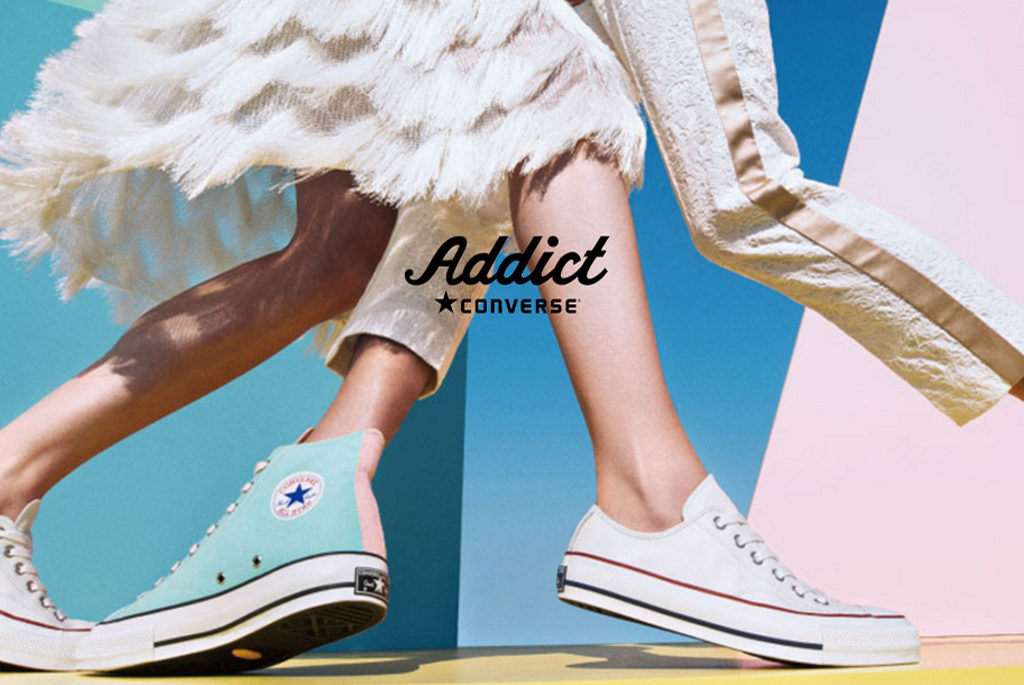 CONVERSE ADDICT NEW RELEASE on APRIL 10.