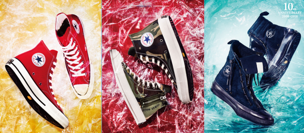 CONVERSE ADDICT NEW RELEASE on OCTOBER 10 (WED)